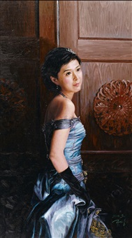 girl by gao jixiong