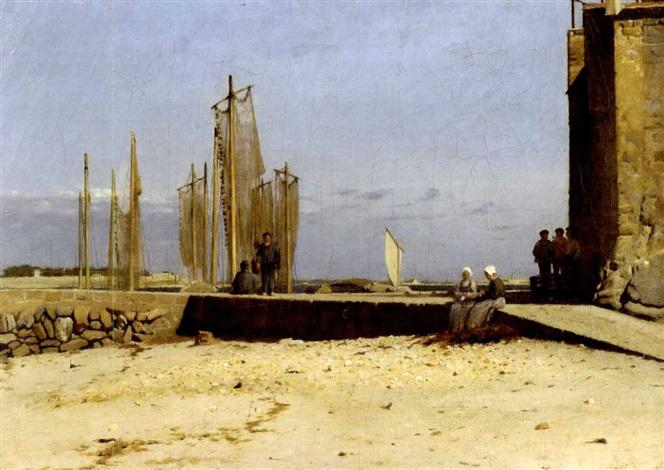 breton harbor larmor by dennis miller bunker