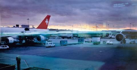 ohne titel airport zürich 2000 in 3 parts by peter fischli and david weiss