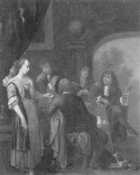musikalische herrenrunde by balthasar van lemens