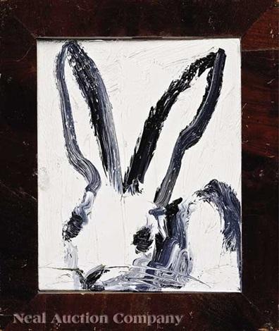 single bunny by hunt slonem