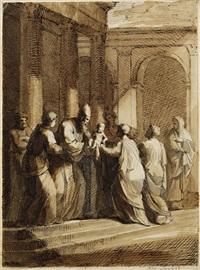 die darstellung im tempel by robert von langer