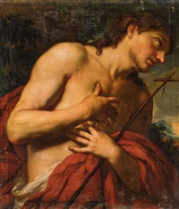 john the baptist by johann karl loth