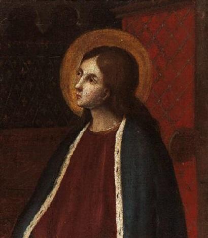 die jungfrau maria by girolamo di benvenuto del guasta