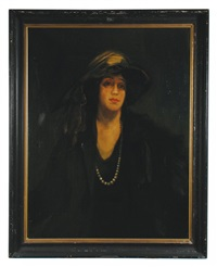 the pearl necklace by john lavery