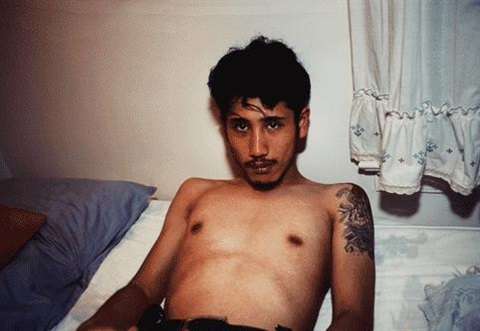 kee in bed e hampton ny by nan goldin