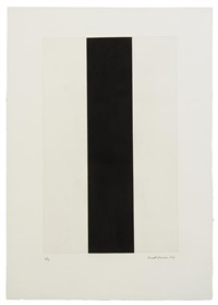 untitled, etching 2 by barnett newman