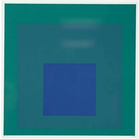 i-s c. (homage to the square) by josef albers