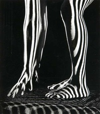 striped light nude by martin miller