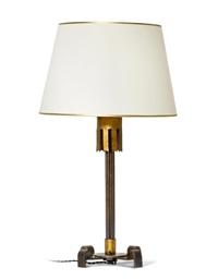 tischlampe by gilbert poillerat
