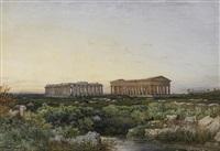 die tempelruinen von paestum by julius zielke
