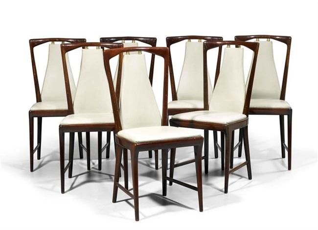 Tisch Mit 6 Stühlen By Osvaldo Borsani