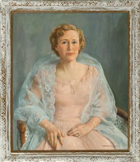 portrait of a society woman by howard everett smith