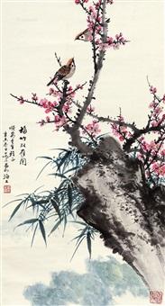 梅竹双雀 by qiao mu