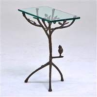 occasional table by diego giacometti