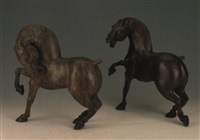 couple de chevaux by daniel monic