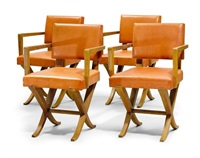 sessel (set of 4) by maurice lafaille