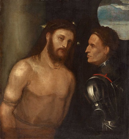 christus vor pilatus by titian tiziano vecelli