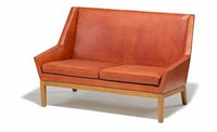 two-seater sofa (model bo77/3) by erik kolling andersen