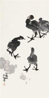 鸡 by jiang wenzhan