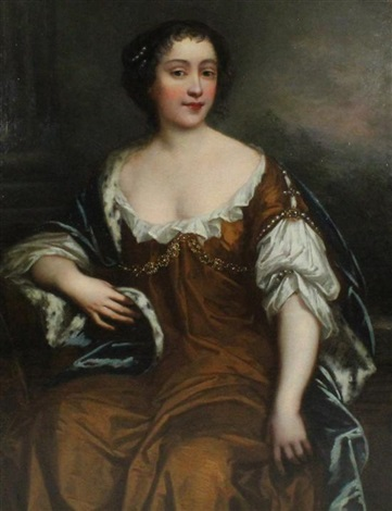 portrait of lady bellasys by sir peter lely
