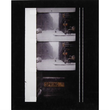 new york in winter by jonas mekas