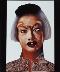self-hybridation no. 18 by orlan
