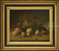 still life of fruit by william m. laning
