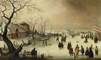 winterlandschaft by hendrick avercamp