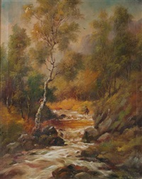 trout stream by henry t. harvey