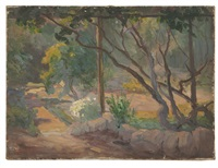 arroyo seco landscape by kathryn woodman leighton