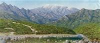 landscape by jiang yihe