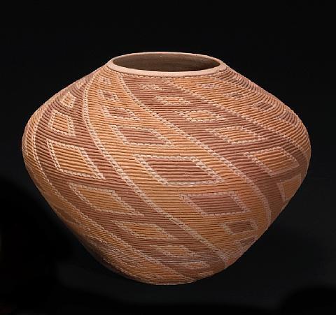 a wyandot jar by richard zane smith