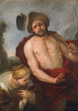 christ and saint mary magdalene by luca giordano