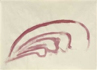 ohne titel (6 works, various sizes) by gerald domenig