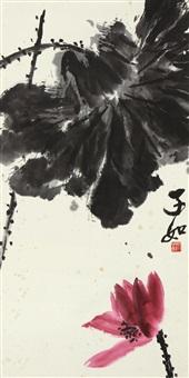 lotus by qi liangkun