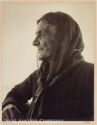 peasant woman by arnold genthe