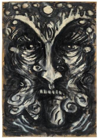 ohne titel die masken by heribert c ottersbach