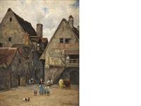 le vieux montluçon by léon barillot