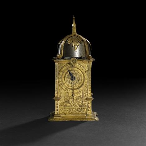 mantel clock renaissance