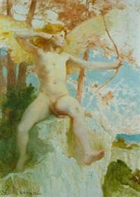cupid by jules louis machard