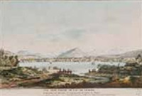 vue d'une partie du lac de gèneve (colored by g. oberkogler) by alexis nicolas perignon the elder