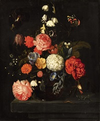 flower still life by david cornelisz heem iii