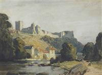 richmond castle, yorkshire by richard jack