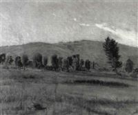 paysage du buache by albert rehfous