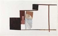 ohne titel (3 works, various sizes) by gerald domenig