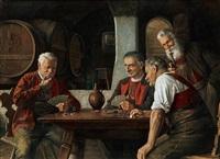 beim kartenspiel by otto eichinger