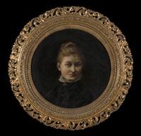 portrait of a woman by etta ackerman
