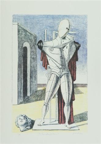il trovatore solitario by giorgio de chirico