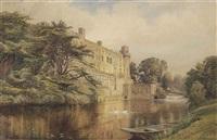 warwick castle by charles reginald aston